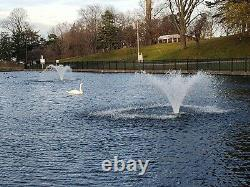 1HP Typhoon Display Floating Aerator and De-Icer Pond, Lake, Dock, Pool