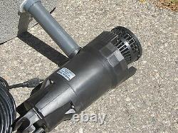 1hp CasCade 5000 Floating Pond Fountain Aerator 100 FT Power Cord & Light
