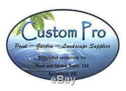 Custom Pro 3000 gph Floating Pond Fountain-Multi-Tier Nozzle-33' cord-aerator
