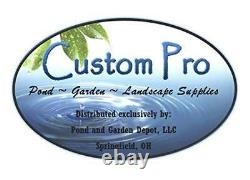 Custom Pro 5200 Floating Fountain Aerator withPump & 120 RBG LED Lights with33' Cord