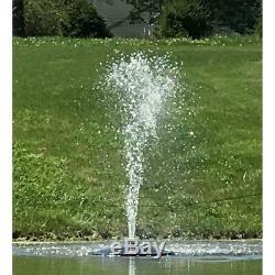 Custom Pro FT 1900 gph Floating Water Fountain/Aerator-for Koi Pond, Farm-50' cd