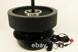 Custom Pro Floating Pond Fountain & Aerator with Multi-tier Nozzle RWB LED 3000