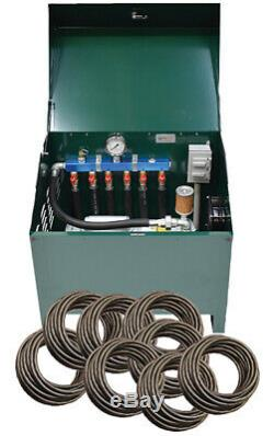 Deluxe Rotary Vane Pond Aeration 1 HP System with Quick Sink Tubing PA100DLD