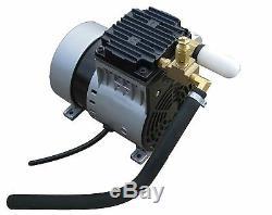 EasyPro PA34W Rocking Piston Pond Aeration Kit withweighted tubing-1/4 HP aerator
