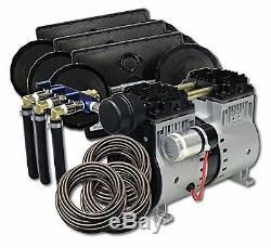 EasyPro PA66 Rocking Piston 1/2 HP Aeration Kit withPoly Tubing-pond/lake aerator