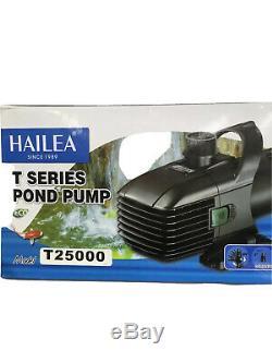 Hailea T25000 Pond Pump 6341 GPH-for aeration-waterfall-fountain-skimmer-filter
