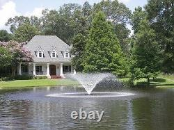 Kasco 8400VFX and 2.3VFX Series 2HP Aerating Fountains