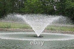 Kasco 8400 VFX 2 HP Display Aerator Fountain 150' Cord 240V
