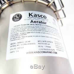 Kasco Marine 3400HA High Oxygen Transfer Pond Aerator with 100' Cord 240V