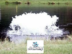 Kasco Surface High O2 Pond Aerator De-Icer 1/2HP 120V With Float 100' Cord