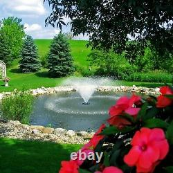 Kasco VFX Series 1/2HP-5HP Floating, Aerating Fountains