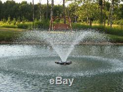 Kasco VFX Series 3/4 HP Aerating Pond Fountain VFX3400H 230V 100' Ft Power Cord