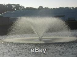 Kasco VFX Series 5 HP Aerating Pond Fountain VFX51H 230V 100' Ft Power Cord