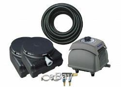 Matala Air PRO 4 Plus Pond Aeration Kit Includes Pump, Air Hose & Diffuser