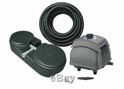 Matala Air PRO 5 Plus Pond Aeration Kit Includes Pump, Air Hose & Diffuser