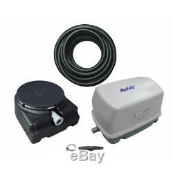 Matala EZ-Air Pro 3 Plus Pond Aeration Kit Includes Pump, Air Hose & Diffuser