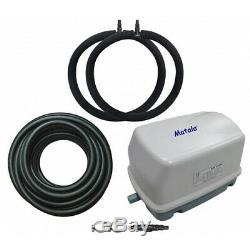 Matala EZ-Air Pro 3 Pond Aeration Kit Includes Pump, Air Hose & Diffusers