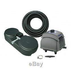 Matala EZ-Air Pro 5 Plus Pond Aeration Kit Includes Pump, Air Hose & Diffuser
