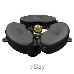 Matala Floating Fountain Pond Aerator 1/2 HP With Type A Nozzle 110V 65Ft. Cord