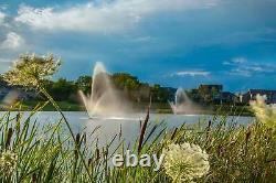 NEW Atriarch Pond Fountain Aerator 40' Spray Height 1.5hp 5yr Warranty USA MADE