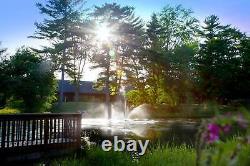 NEW Skyward Pond Fountain Aerator 20' x 30'w Spray 1/2 HP 5yr Warranty USA MADE