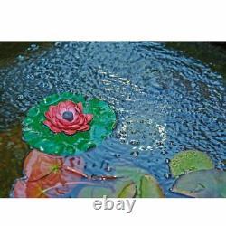 Oase Pontec Pondoair 1200 Set Led Pond Aerator Fountain Air Pump Lily Oxygen Koi