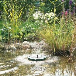 Oase Pontec Pondosolar Floating Solar Lily Island Fountain Aerator Ornamental