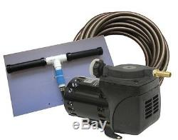 Pond Aeration System 1/20 HP Kit with Quick Sink Tubing PA10W