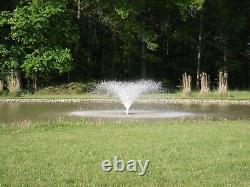 Pond Aerator High Volume Circulator Floating Pond Fountain Aeration