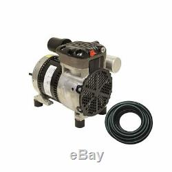 Rocking Piston Pond Aeration System 1/4 HP Kit with Quick Sink Tubing PA34WLD