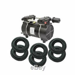 Rocking Piston Pond Aeration system 3/4HP Kit with Quick Sink Tubing PA86WLD