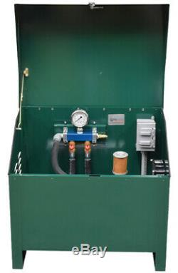 Rotary Vane Pond Aeration System 1/4 HP with cabinet (No Diffusers) PA50ADLD