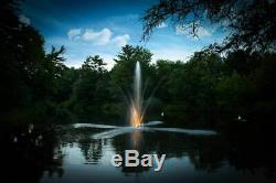 Scott Aerator 3 Light Set Night Glo LED Residential Pond Fountain Lights with 10