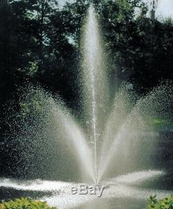 Scott Aerator Clover Fountains Available in 1/2hp to 1-1/2hp Sizes