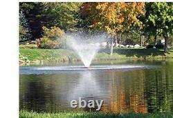 Scott Aerator Co. Floating Pond Aerator Fountain 1/2 HP 115V Pond Aerator