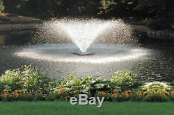 Scott Aerator DA 20 Display Pond Aerator Fountain 3/4 HP 230V With 100 ft. Po