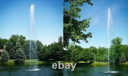 Scott Aerator Jet Stream Fountains Available in 1/2hp or 1-1/2hp Sizes