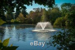 Scott DA 20 Display Aerator Pond Fountain 1/3 HP 230 V With 100 ft. Power Cord