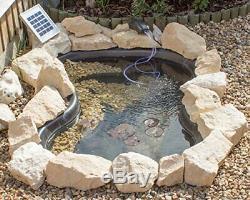Solar Pond Aerator/Oxygenator 2 Stone