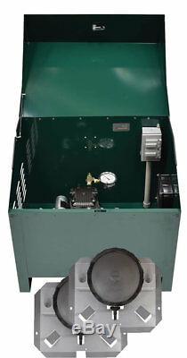 1/4 Bassin HP Système D'aération Rocking Compresseur À Piston Avec Cabinet Pa34-2d