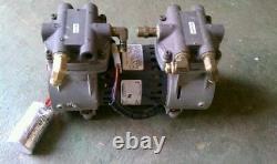 1+ Cfm 18+hg Vacuum Placage Piston Compresseur Pompe Thomas 2505 Pas Pour Aeration