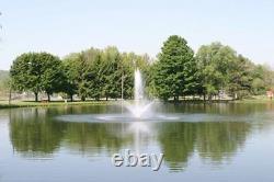 1hp Cascade 5000 Floating Pond Fountain Aérateur Avec 100ft Power Cord & Light