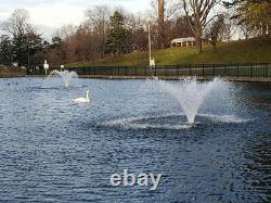 1hp Typhoon Display Floating Aerator And De-icer Pond, Lake, Dock, Piscine