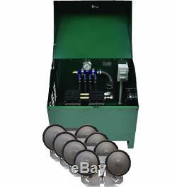 3/4 Bassin HP Système D'aération Rocking Piston Pa86ad Comprend Le Cabinet Et Diffuseurs