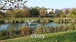 3/4 HP Lake Pond Aerating Fountian Premium Grade Residential/commercial Kasc