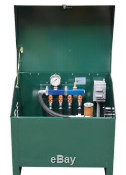 3/4 HP Rotary Vane Compresseur Avec Étang Aeration Verrouillage Cabinet Pa75adld