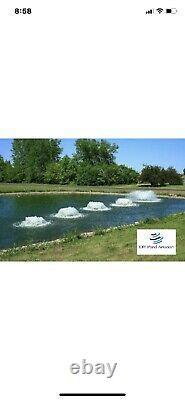 Aérateur Pompe Fontaine Lac Ou Étang Aqua Master