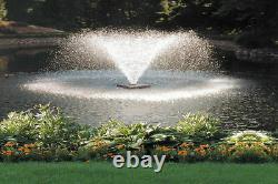 Aérateur Scott Da 20 Affichage Pond Aérateur Fontaine 1 1/2 HP 230v Avec 200 Ft