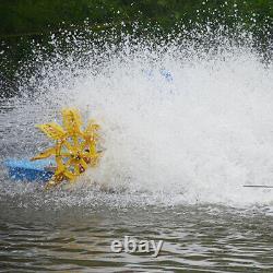 Aérateur Solaire À Grande Vitesse Paddle Roue Pêche Ferme / Pold Crevette Ferme