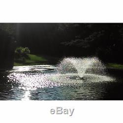 Affichage Scott Fountain 1/3 HP Aérateur De Bassin De 115 Volts 70ft Cordon D'alimentation Da-20